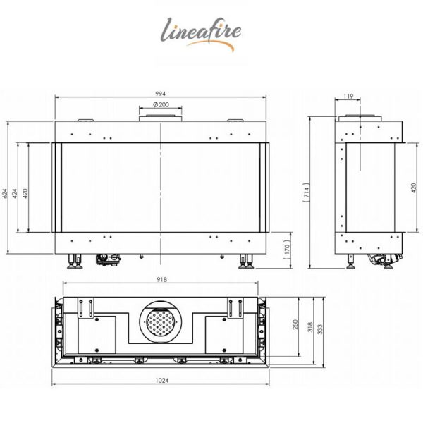 LINEAFIRE-Fireplaces-3-Sided-100