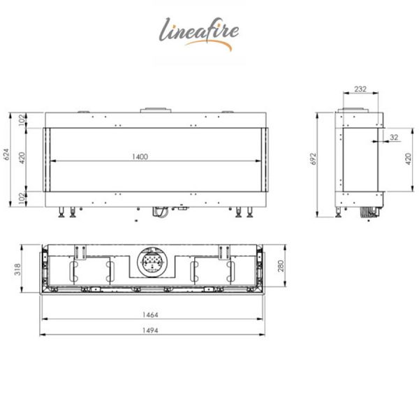 LINEAFIRE-Fireplaces-3-Sided-150