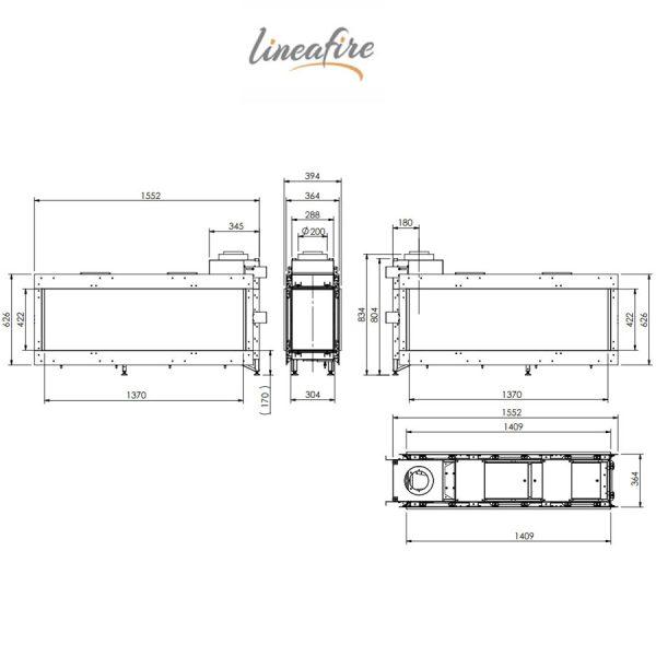 LINEAFIRE-Fireplaces-Horizontal-150-Tunnel